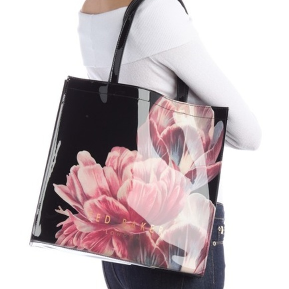 ecb7ae2d0e TED BAKER LONDON Tesacon Tranquility Black Tote
